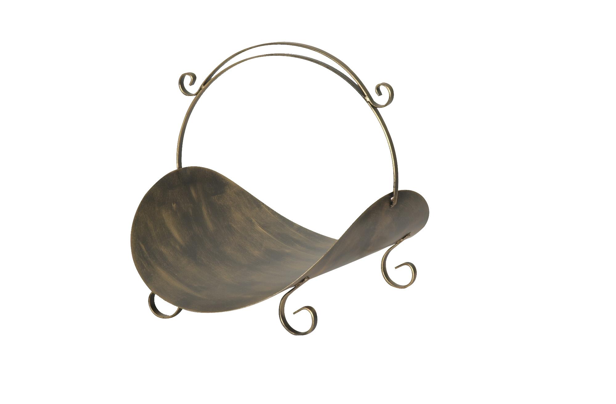 Cesto para lenha cabo de ferro (Cód. 218)